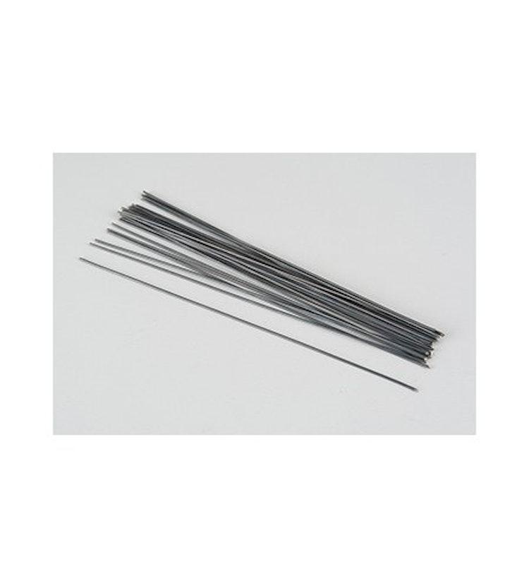 Skafttråd / Blomtråd svart 1,2mm
