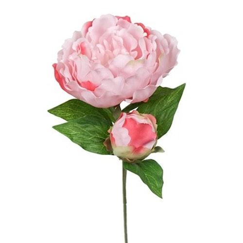 Konstgjord Pion Rosa