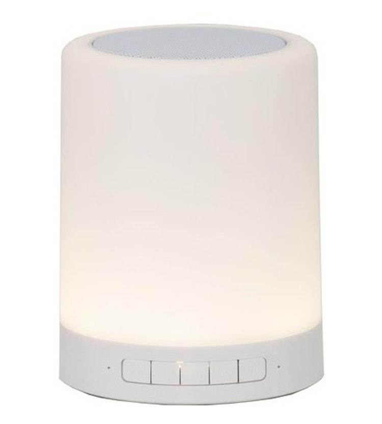 LED lampa RGB Sound & Light Konstväxter Floristmaterial