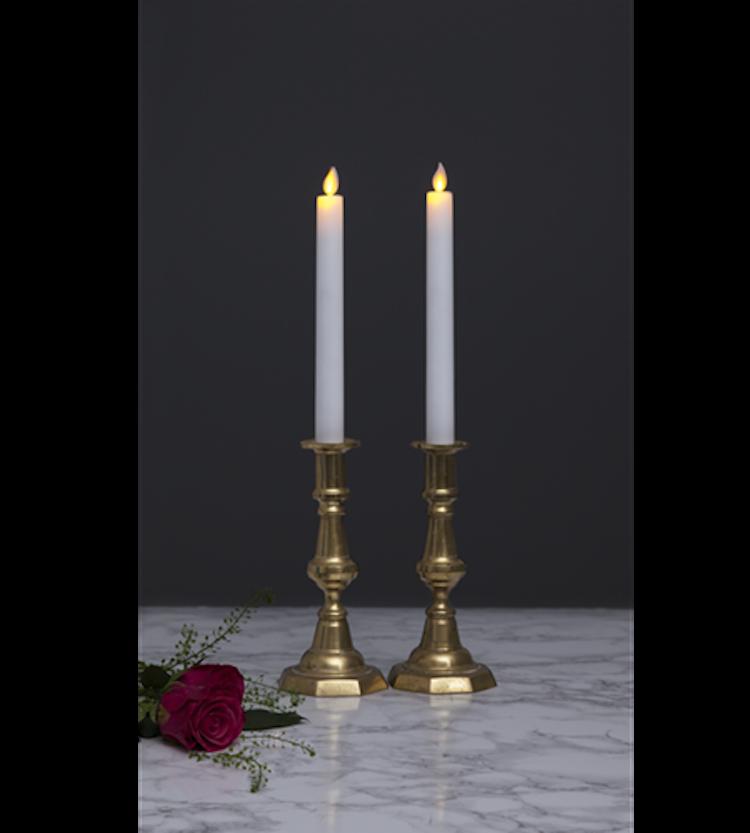 LED Antikljus/Kronljus 2-pack, 24cm