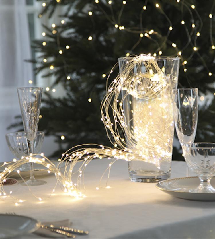 Ljusslinga 360 LED dew drops