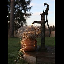 Ljusslinga 360 LED dew drops för utomhusbruk