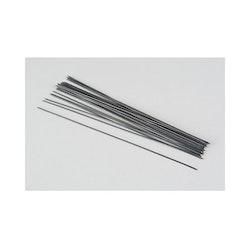 Skafttråd / Blomtråd svart 0,7mm