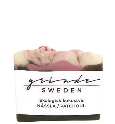 EN HANDGJORD, EKOLOGISK TVÅL från Grinde Sweden.