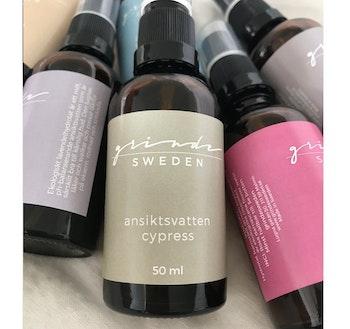 Grinde Sweden Ekologiskt Ansiktsvatten Cypress