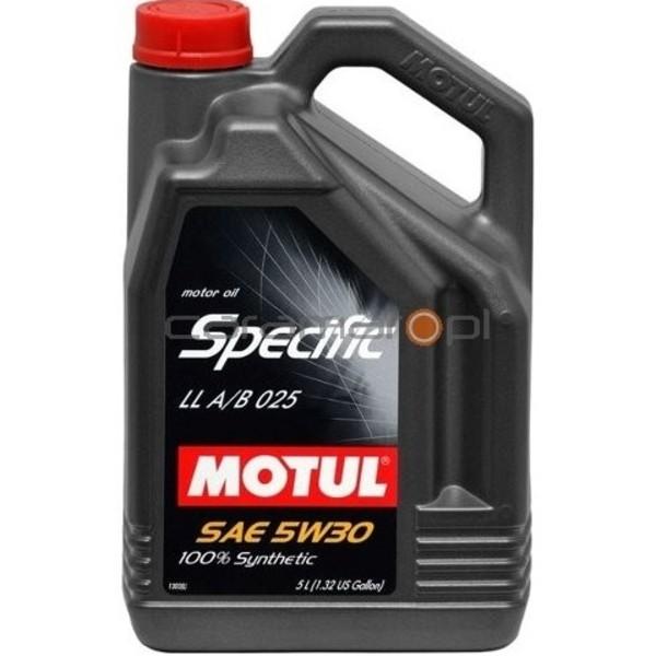 Motul Specific LL A/B 025 5w30 5 L