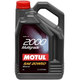 Motul 2000 Multigrade 20w50 5L