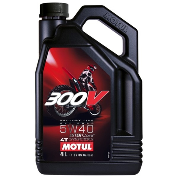 Motul 300V Factory Line Off-Road 5w40 4L