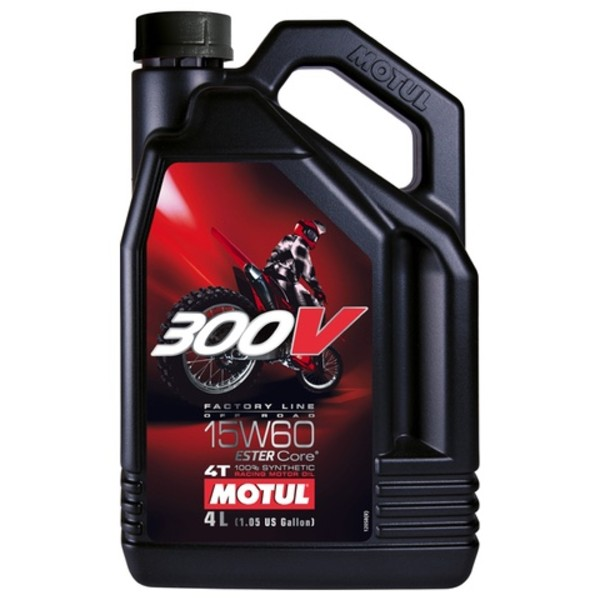 Motul 300V Factory Line Off-Road 15w60 4L