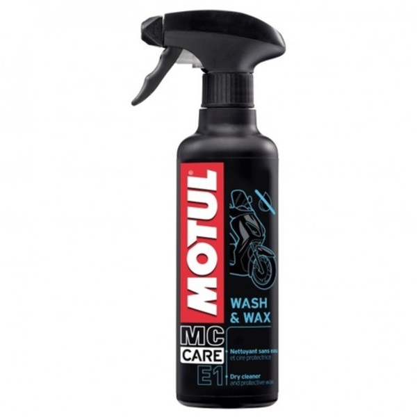 Motul Wash & Wax E1 400 ml Pump