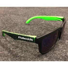 Solglasögon - Grön/Svart