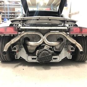 Audi R8 V10 Raceflow System