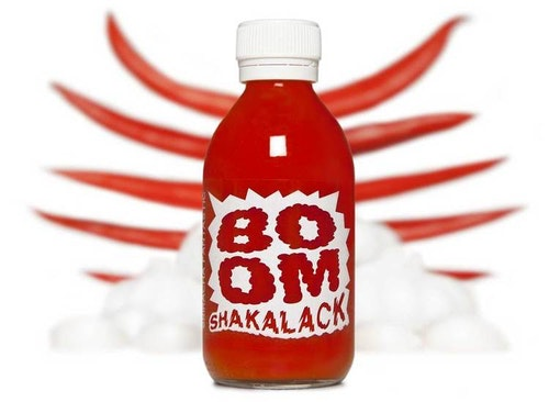 BOOM SHAKALACK chilisås 210ml
