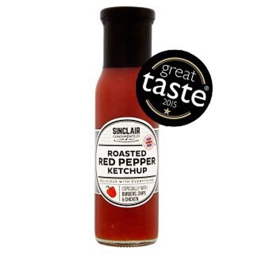 Roasted Red Peppar Ketchup 280g från Sinclair Condiments Co.