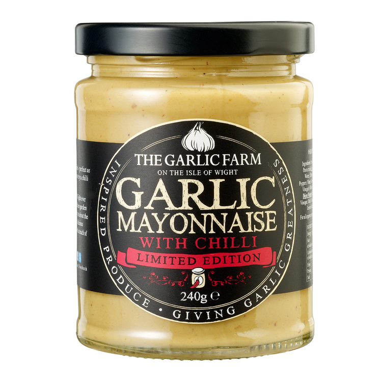 The Garlic Farms Garlic Mayonnaise with Chilli 240g