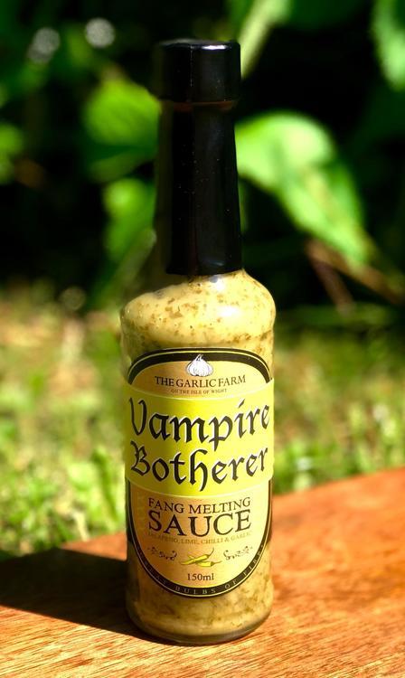 The Garlic Farm Vampire Botherer Fang Melting Sauce 150ml