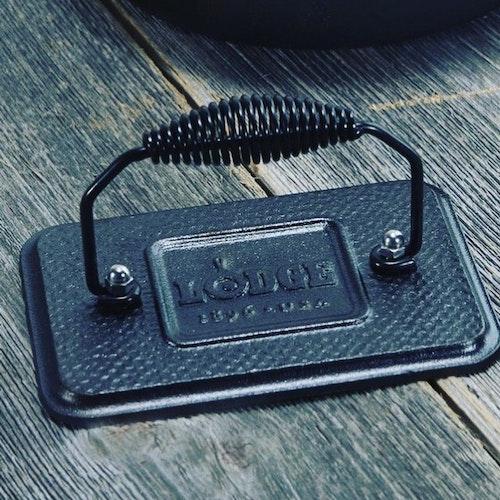Lodge Cast Iron Grillpress 17x11cm