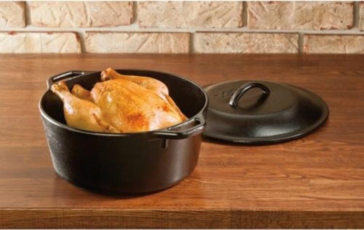 Lodge Cast Iron Dutch Oven 4,7 liter