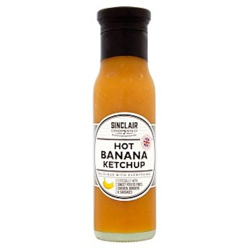 Hot Banan Ketchup 280g från Sinclair Condiments Co