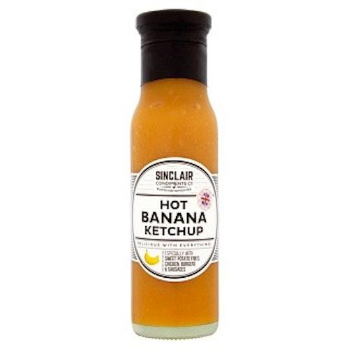 Hot Banan Ketchup 280g från Sinclair Condiments Co
