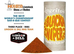 Lagrito´s The Black Sniper No3 tävlings rub 150g