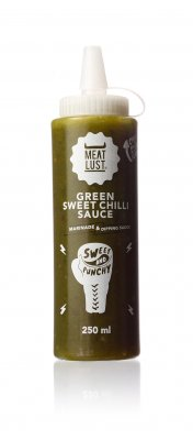 Meat Lust Green Sweet Chili Sauce 250ml