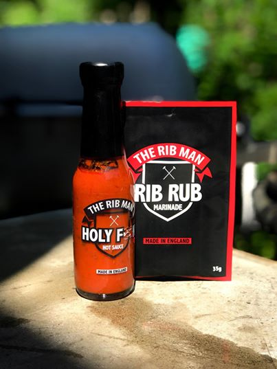The Rib Mans Combo 1st Rib Rub 35g och 1st Holy F❌❌k Hot Sauce