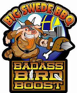 Big Swede BBQ Badass Bird Boost 340g