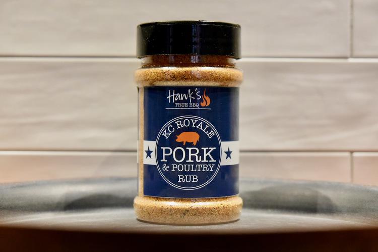 Hank's KC Royale Pork Rub