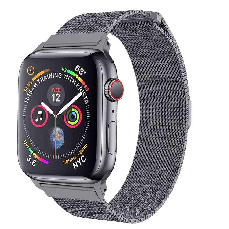 Apple Watch Armband Milanesisk 38/40mm Ljusgrå