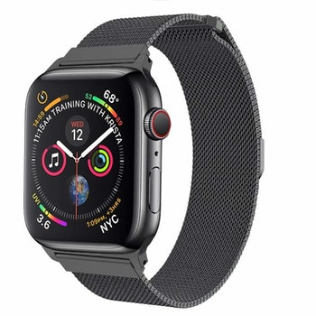 Apple Watch Armband Milanesisk 38/40mm Mörkgrå