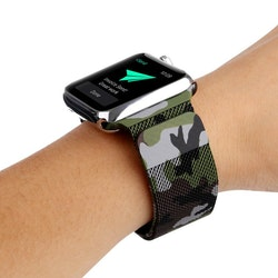 Armband till Apple Watch Milanesisk 38/40mm KAMOUFLAGE