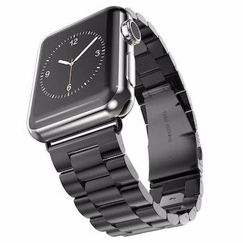 Apple Watch Borstat Metallarmband 38/40mm Svart