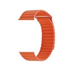 Läderband för Apple Watch 42/44mm ORANGE