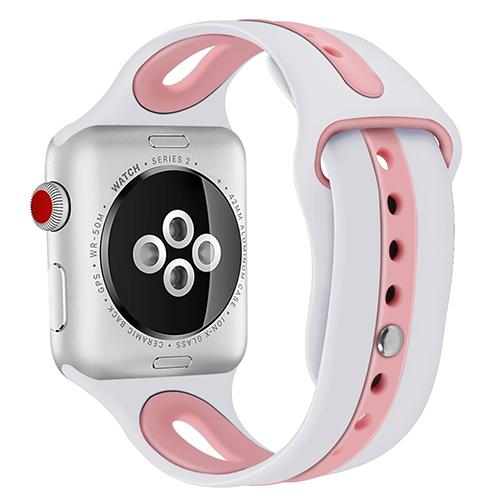 Silikonband för Apple Watch 1 2 3 4 - FLERA FÄRGER