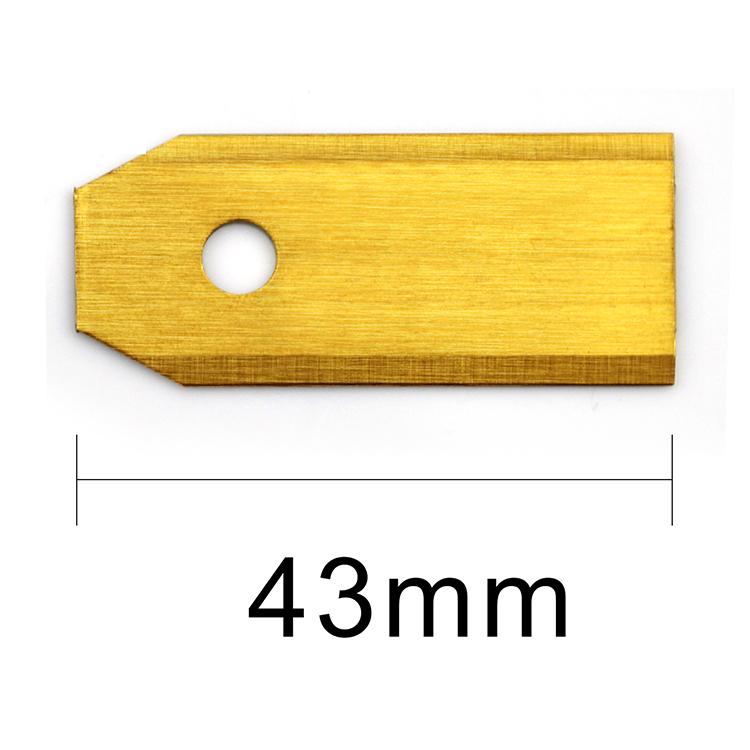 18st - Titan-överdrag - Extra långa Knivar på 43mm - 18st