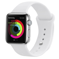 Armband sport för Apple Watch  Helvitt 38/40mm