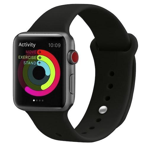 Apple Watch Armband sport Helsvart 38/40mm