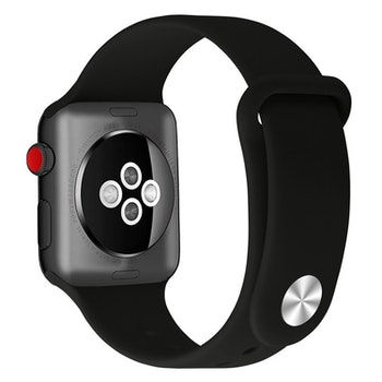 Apple Watch Armband sport Helsvart 42/44mm