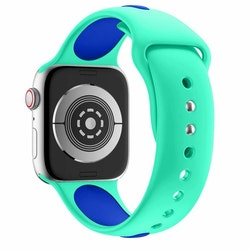 Apple Watch Armband sport Mintgrön/Blå