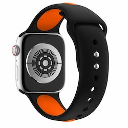 Armband sport för Apple Watch Svart/Orange