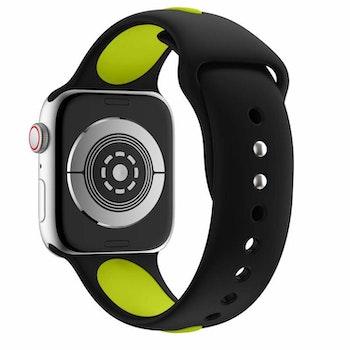 Armband sport för Apple Watch Svart/Grön