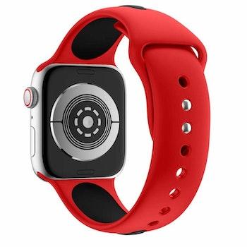 Apple Watch Armband sport Röd/Svart