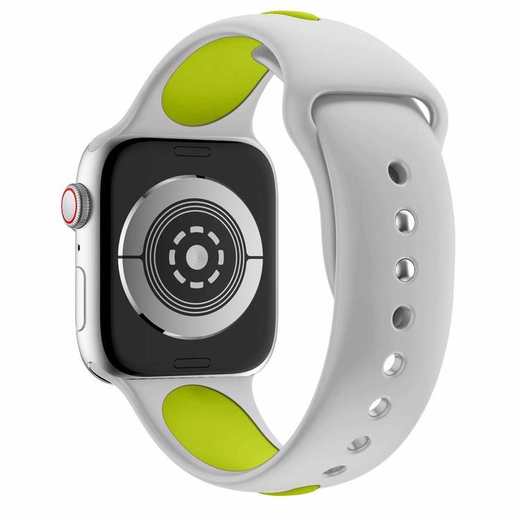 Apple Watch Armband sport Grå/Grön