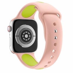Armband sport för Apple Watch Rosa/Grön