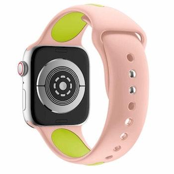 Armband sport för Apple Watch Rosa/Grön