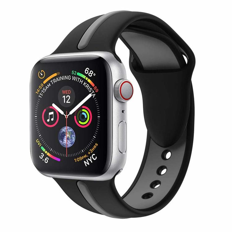 Armband sport för Apple Watch Svart/Grå