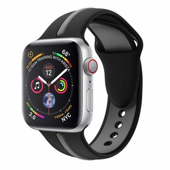 Apple Watch Armband sport Svart/Grå