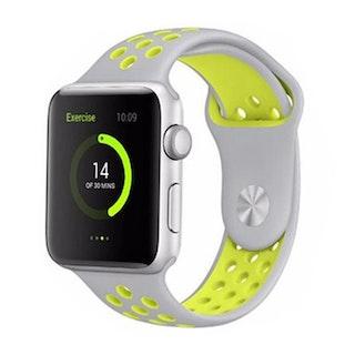 Apple Watch Silikon Grå/Gul 42/44mm