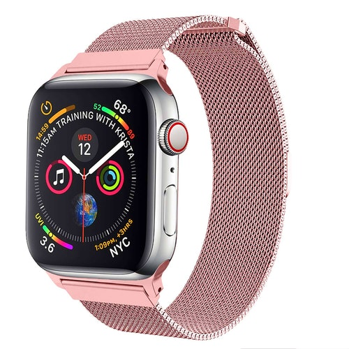 Apple Watch Armband Milanesisk 38/40mm Rosa
